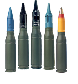 25mm X 137 Ammunition - General Dynamics Ordnance and